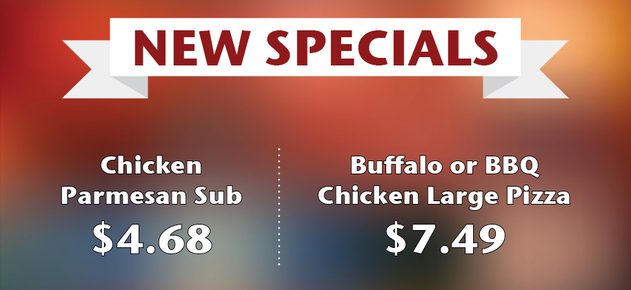 Gina's Pizza New Bern Specials